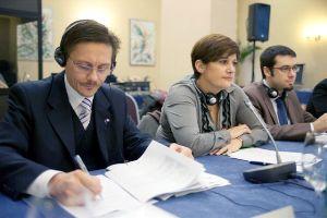 Zagreb, 9. studenoga 2011. - Elene Grech, voditeljica Odjela u Općoj upravi za regionalnu politiku Europske komisije supredsjedala je sastankom te je izrazila zadovoljstvo napretkom provedbe projekata