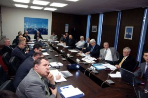 Zagreb, January 31 2012 - harbor masters at the meeting with the Minister Komadina and his closest associates