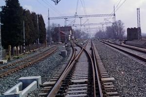 Okučani/Novska, 24. veljače 2010. - radovi na rekonstrukcije oba smjera željezničkog kolosijeka