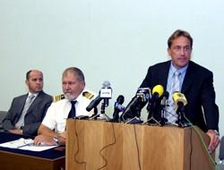 Ministar Kalmeta predstavlja projekt zaštite i nadzora Jadrana