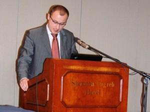 Pomoćnik ministra mora, turizma, prometa i razvitka za željeznički promet Branimir Jerneić