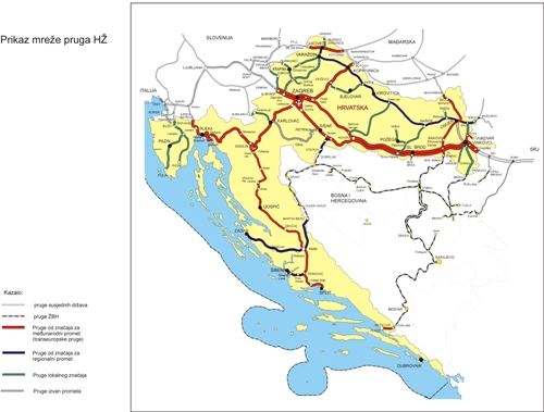 Railways in the Republic of Croatia