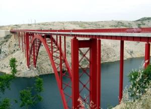 Maslenički most na D-8