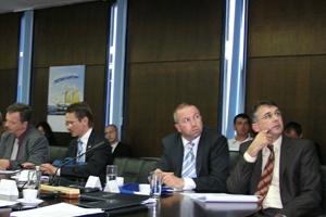 Zagreb, 2. lipnja 2010. - Na sastanku su bili i predstavnici  provedbenih tijela (HŽ Infrastrukture d.o.o. i SAFU) te Ministarstva financija, Državnog ureda za reviziju i Delegacije Europske unije u Zagrebu