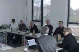 Vukovar, 17. prosinca 2010. - uz Dražena Antolovića(2. s lijeva) iz Ministarstva mora, prometa i infrastrukture,  sastanku su nazočili i predstavnici SAFU, Agencije za plovne putove unutarnjih voda, Lučke uprave Vukovar, Savske komisije, Delegacije EU u Zagrebu i konzultanti (Parsons Brinckerhoff ltd. i COWI)