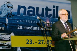 Zagreb, February 23 2011 - Capt.. Mario Babić, State Secretary for the Sea opened on 20 jubilee of the