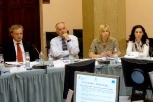 Trst, 31. srpnja 2011. - Katarina Čop Bajde, ravnateljica Uprave za strateške infrastrukturne objekte sudjelovala je na VII. sastanku SEETAC-a predvodeći stručnu skupinu iz RH
