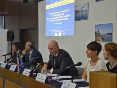 Završen projekt izrade nacrta Strategije prometnog razvoja Republike Hrvatske kao preduvjet za sufinanciranje projekata iz fondova EU