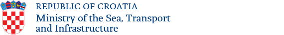 Ministry of the sea, transport and infrastructure logo